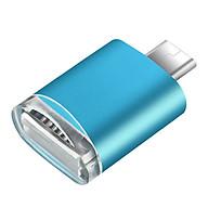 Đầu đọc thẻ nhớ micro SD dành cho điện thoại, thiết bị sử dụng cổng micro USB, đầu đọc thẻ nhớ điện thoại Android, chất liệu kim loại sang trọng thumbnail