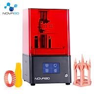 NOVA3D Bene4 LCD 3D Printer Upgraded UV Light Source with 4.3 Inch Smart Touchscreen 2K High Resolution Mute Printing thumbnail