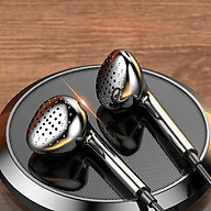 Tai nghe T4, tai nghe có dây nhét tai âm thanh chất lượng cao, thiết kế đẹp mắt thoải mái khi đeo- Hàng nhập khẩu thumbnail