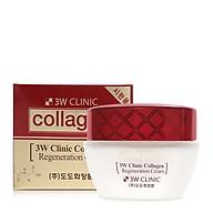 Kem dưỡng trắng da chống lão hóa 3W Clinic Collagen Regeneration Cream 60ml - Hàn Quốc Chính Hãng thumbnail