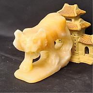 Tượng Phong Thuỷ Tuổi Dần - Hổ 12 Con Giáp Đá Ngọc Hoàng Long - 8cm - Mx - Hợp Mệnh Thổ, Kim thumbnail