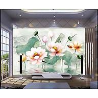 Tranh dan tường 3d đầm den - ép kim sa - có sẵn keo PC66 thumbnail