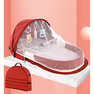 Túi Ngủ Có Mùng Chống Muỗi, Côn Trùng Dùng Đi Dã Ngoại, Du Lịch Cho Bé Tiện Lợi - Hàng Chính Hãng (Giao Màu Ngẫu Nhiên) thumbnail