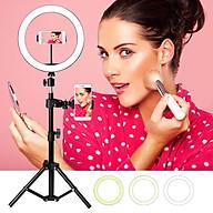 26cm Fill Light Ring Light Supplementary Light LED Light Folding Fill Light for Photography Live Stream Makeup YouTube thumbnail