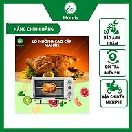 Lò Nướng Bánh Mantis Điện Mini 3 nút vặn 4 dây nhiệt thumbnail