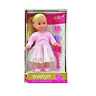 Đồ chơi Búp bê DOLLSWORLD Em bé Evelyn DW8844 thumbnail