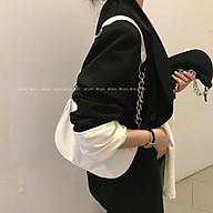 IELGY Retro simple casual one-shoulder armpit bag thumbnail