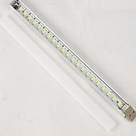 Đèn 21 Led cắm USB cảm ứng chạm (Tặng kèm quạt mini cắm cổng USB vỏ nhựa giao màu ngẫu nhiên) thumbnail