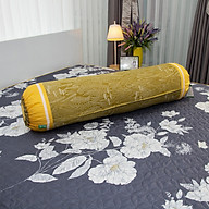 Vỏ gối ôm HQ3003 -100% cotton- bông lau vàng thumbnail
