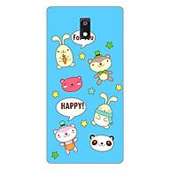 Ốp lưng dẻo cho điện thoại Nokia 3_0514 HAPPY02 - Hàng Chính Hãng thumbnail