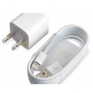 Bộ cốc sạc và dây sạc lightning cho iPhone 5,6,7 thumbnail
