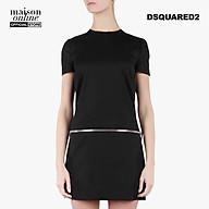 DSQUARED2 - Đầm mini phối khóa kéo Black Dsquared2 S75CU0578-900 thumbnail
