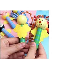 [COMBO 2 Chiếc] Dây nhả thể dục dễ thương cho bé - Chất liệu gỗ và dây dù siêu bền, an toàn thân thiện - Giao màu ngẫu nhiên thumbnail