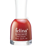 Sơn móng tay Felina 18ml CS318 - Đỏ Ớt thumbnail