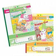 Combo 5 quyển Vở ô ly Happy Cat TP005 - 48 trang thumbnail