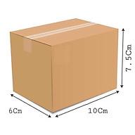 10x6x7.5 - Combo 20 thùng giấy gói hàng, thùng carton thumbnail