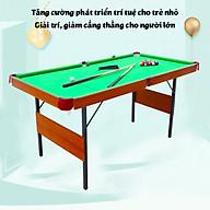 Bàn Bi-A bằng gỗ Table Top Pool Table TTP-140kích thước 140x74x81cm thumbnail