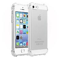 Ốp Lưng Dẻo Chống Sốc Phát Sáng Cho iPhone 5 5S 5SE Dada (Trong Suốt) - Hàng Chính Hãng thumbnail