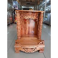 Bàn thờ Thần Tài Ông Địa đẹp gỗ Xoan ngang 48 cao 68 , Mã sản phẩm X3 - Đồ Thờ Thắng Duyên Đại Phát thumbnail