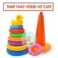 Lưới tháp thảy vòng vịt ( cỡ trung) cho bé trên 1 tuổi HT-702 thumbnail