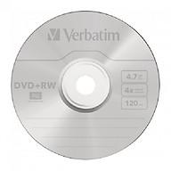 Đĩa Verbatim DVD+RW 4.7GB 4X 10psc - Hàng chính hãng thumbnail