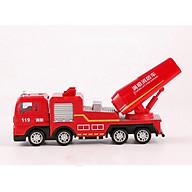 Xe đồ chơi mô hình xe cứu hỏa phun nước DLX, nhựa ABS an toàn, chi tiết sắc sảo (hàng nhập khẩu) thumbnail