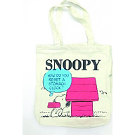 Túi Xách Nữ Vải Bố Snoopy thumbnail