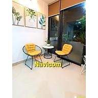 Bàn ghế Ban công - Sân vườn NVC 2 (01 bàn 02 ghế kèm nệm) thumbnail