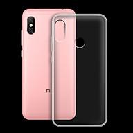 Ốp lưng cho Xiaomi Mi A2 Lite Redmi 6 pro - 01132 - Ốp dẻo trong - Hàng Chính Hãng thumbnail