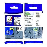 Combo 02 nhãn in TZ2-241 tiêu chuẩn - Chữ đen trên nền trắng 18mm - Hàng nhập khẩu thumbnail