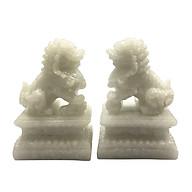 Cặp tượng đá trang trí kỳ lân - đá non nước thumbnail