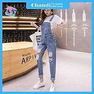 Yếm Jean Nữ Thương Hiệu Chandi, Yếm Nữ Quần cao cấp mẫu mới hot trend 2021 mã NT331 thumbnail