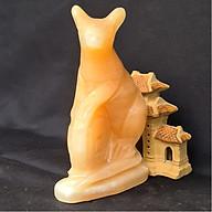 Tượng Phong Thuỷ Tuổi Tí - Chuột 12 Con Giáp Đá Ngọc Hoàng Long - 8cm - Mx - Hợp Mệnh Thổ, Kim thumbnail
