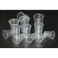 cốc nhựa dùng 1 lần loại 500ml có nắp tiện dụng thumbnail