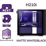 Vỏ Case Máy Tính NZXT H210i Màu Trắng Sần - Hàng Chính Hãng thumbnail