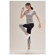 Set 3 Chi Tiết đồ tập Yoga , Gym cao cấp , co giãn 4 chiều - BT73 ( áo bra + quần cạp cao + áo tank ngoài ) thumbnail