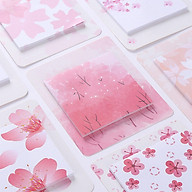 Romantic Cherry Pattern Printing Sticky Note thumbnail