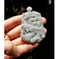 Dây chuyền rồng phong thủy đá ngọc phỉ thúy thumbnail