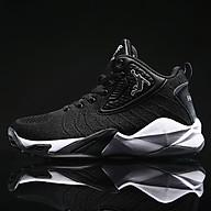 Giày bóng rổ nam mầu đen trắng dệt thoáng khí HML19BL thumbnail