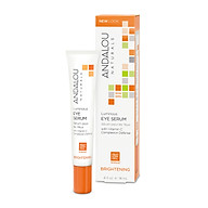 Serum Gia m Nê p Nhăn Va Quâ ng Thâm Mă t Andalou Naturals Luminous Eye Serum 18ml thumbnail