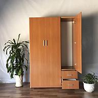 Tủ áo MRC 123 185 47 Cm (màu nâu gỗ) thumbnail