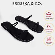 Dép đi biển thời trang Erosska 2021 quai dây mảnh DE041 thumbnail