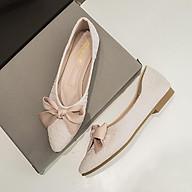 Giày búp bê mũi nhọn đế 1,5cm mềm êm chân hot trend ST59 - Mery Shoes thumbnail