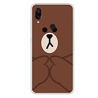 Ốp lưng dẻo cho điện thoại Xiaomi Redmi Note 7 - 0048 BROWN09 - Hàng Chính Hãng thumbnail