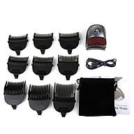 Mini Rechargeable Hair C-lipper Professional Electric Haircut Men s Hair Trimmer Beard Haircut 9Pcs Limit Combs thumbnail