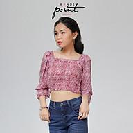 Áo kiểu nữ Monde Point MPWA06131101 họa tiết da báo thumbnail