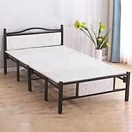 Giường ngủ xếp gọn khung thép mẫu 1.5m-Giường xếp-Giường gấp tặng kèm đệm-Giường văn phòng thumbnail