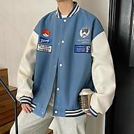 Áo khoác len, cardigan nam, áo khoác bomber cardigan chữ F, áo khoác cardigan chống nắng chống lạnh freesize from rộng nam nữ, áo cardigan hàn quốc thumbnail