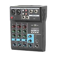 Bộ Mixer Âm Thanh F4-A Trộn Âm Thanh 4 Kênh Hỗ Trợ Bluetooth Hát Karaoke Chuyên Nghiệp PD thumbnail