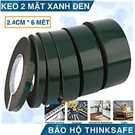 Băng keo xốp 2 mặt bản 2,4cm keo dính chắc chắn, bền và dai khi kéo, dán được trên nhiều bề mặt thumbnail